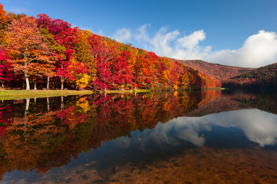 Fall Colors on Sherado Lake